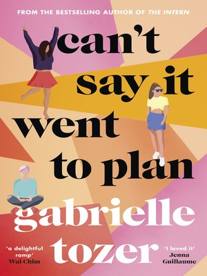 cover image of Can't Say it Went to Plan