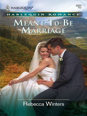 cover image of Meant-To-Be Marriage