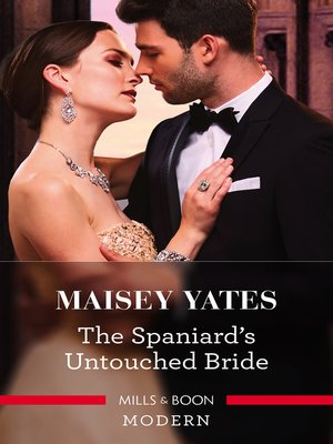 cover image of The Spaniard's Untouched Bride