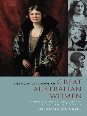 cover image of The Complete Book of Great Australian Women