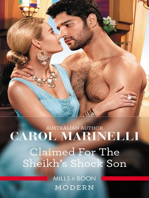 cover image of Claimed for the Sheikh's Shock Son
