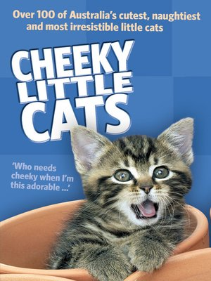 cover image of Cheeky Little Cats