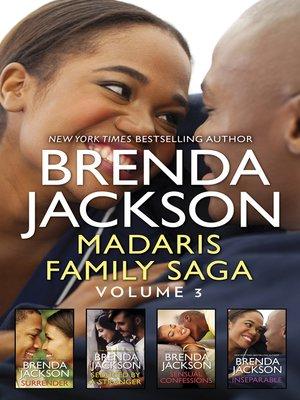cover image of Madaris Family Saga, Volume 3
