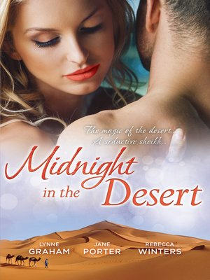 cover image of Midnight In the Desert--3 Book Box Set