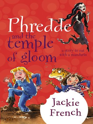 cover image of Phredde and the Temple of Gloom