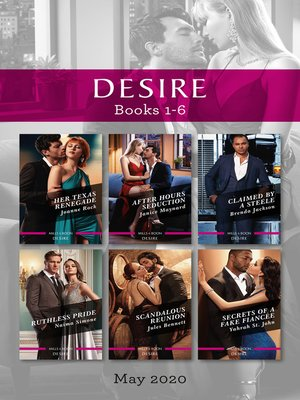 cover image of Desire Box Set 1-6 May 2020
