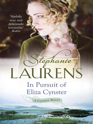 cover image of In Pursuit of Eliza Cynster