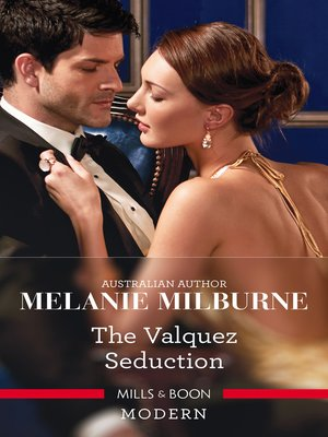cover image of The Valquez Seduction