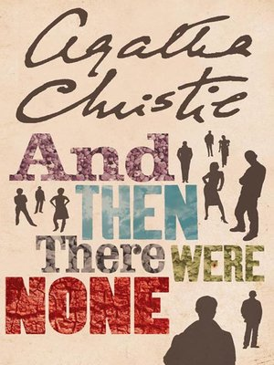 And Then There Were None By Agatha Christie Overdrive Rakuten