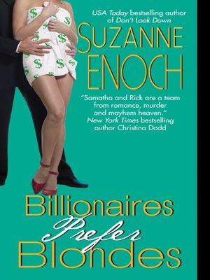 cover image of Billionaires Prefer Blondes