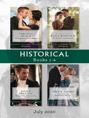 cover image of Historical Box Set 1-4 July 2020