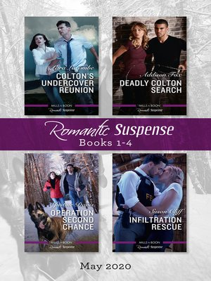 cover image of Romantic Suspense Box Set 1-4 May 2020