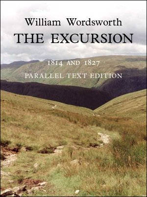 cover image of The Excursion - British Heritage Database Reader-Printable 1814 and 1827 Parallel Text Edition