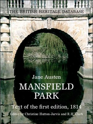 cover image of Mansfield Park - British Heritage Database Reader-Printable Edition