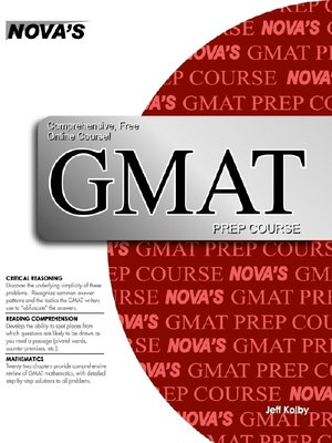 cover image of GMAT Prep Course