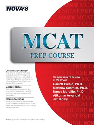cover image of MCAT Prep Course