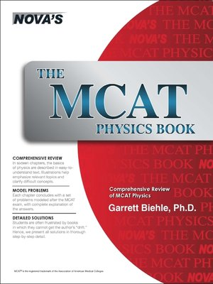 cover image of The MCAT Physics Book