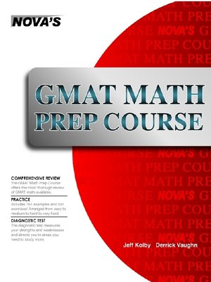 cover image of GMAT Math Prep Course