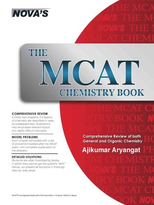 cover image of The MCAT Chemistry Book
