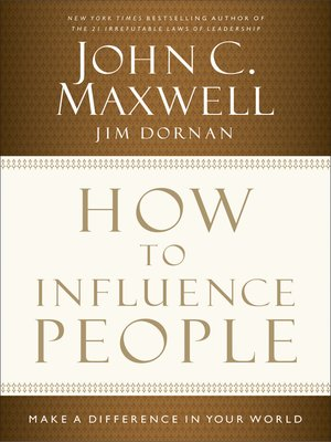 cover image of How to Influence People