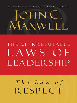 cover image of The Law of Respect