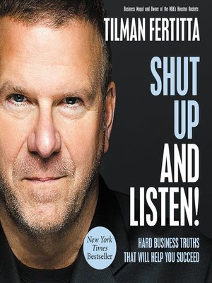 cover image of Shut Up and Listen!