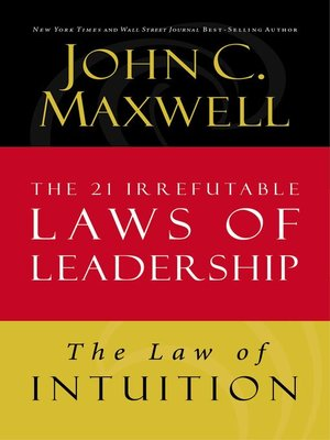 cover image of The Law of Intuition