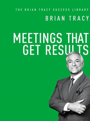 cover image of Meetings That Get Results