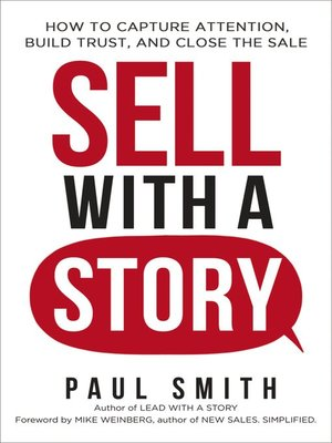 cover image of Sell with a Story