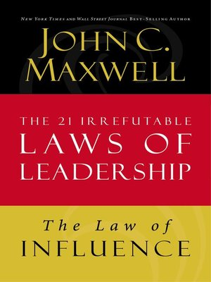 cover image of The Law of Influence