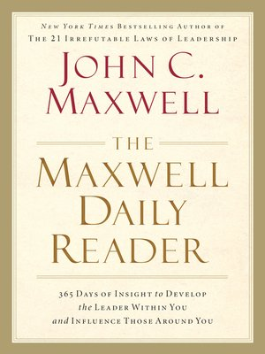 cover image of The Maxwell Daily Reader