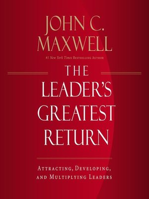 cover image of The Leader's Greatest Return
