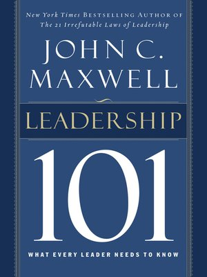 cover image of Leadership 101