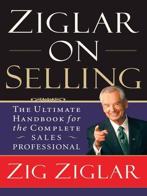 cover image of Ziglar on Selling