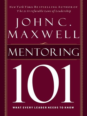 cover image of Mentoring 101
