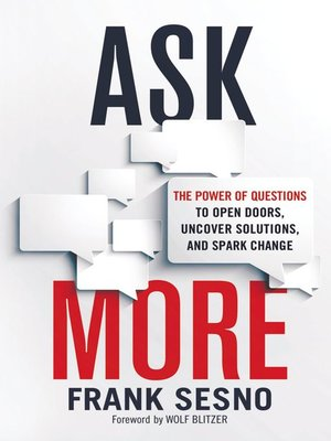 ask more frank sesno review