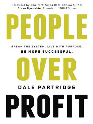 cover image of People Over Profit