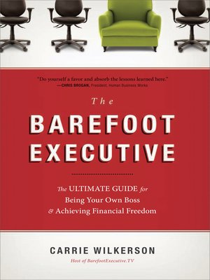 cover image of The Barefoot Executive
