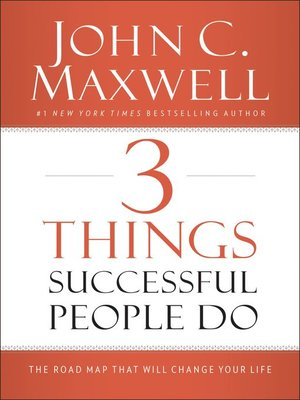 cover image of 3 Things Successful People Do