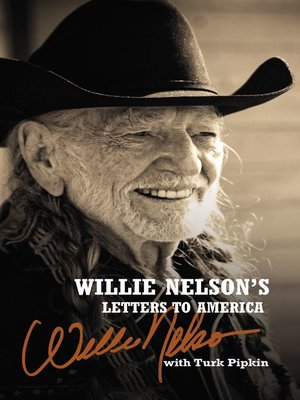 cover image of Willie Nelson's Letters to America