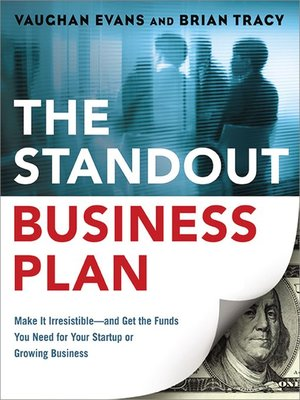 cover image of The Standout Business Plan