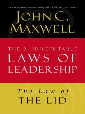 cover image of The Law of the Lid