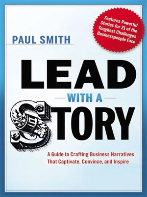 cover image of Lead with a Story