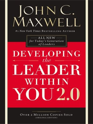 cover image of Developing the Leader Within You 2.0