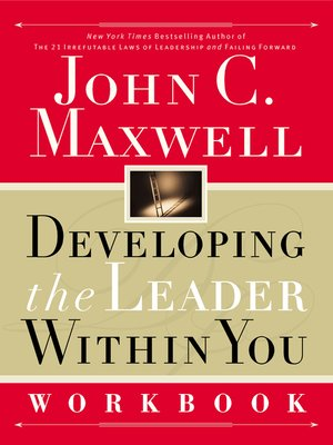 cover image of Developing the Leader Within You Workbook