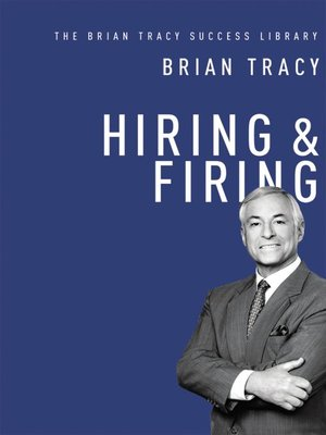 cover image of Hiring and   Firing (The Brian Tracy Success Library)