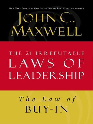 cover image of The Law of Buy-In