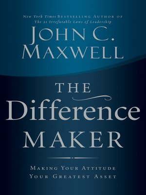 cover image of The Difference Maker