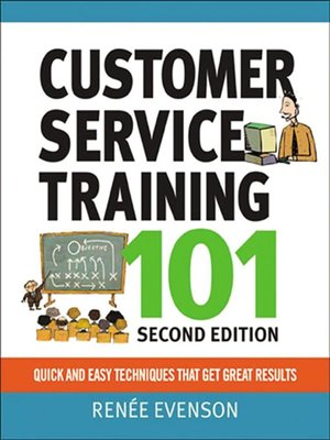 cover image of Customer Service Training 101