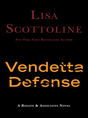 cover image of The Vendetta Defense